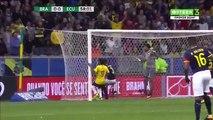 Brésil – Équateur 2-0 - Résumé et Buts