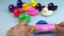 Et couleurs Créatif pâte Canards pour amusement amusement enfants Apprendre moules jouer étoile guerres avec