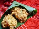 Oignons bhaji Beignets d'oignons