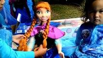 Balle vélo gelé enfants film jouets vidéos Disney 2016 playtent surprise anna elsa musical