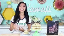 Funfetti Cake Recipe (Birthday Cake with Rainbow Sprinkles) from Cookies Cupcakes and Card