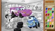 Coches para colorear dibujos animados sobre los coches de dibujos animados de dibujos animados en el desarrollo de finebabytv