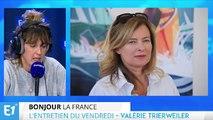 Valérie Trierweiler a reçu le soutien d'Alain Delon après sa rupture avec François Hollande