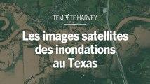Des images satellites montrent l'ampleur des inondations au Texas.