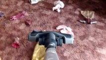Nettoyeur poupée pour maison enfants blanchisserie en jouant jouets vide la lessive Machine à barbie