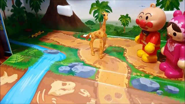 アンパンマンおもちゃアニメ❤つながるアンパンマンランド♪おかあさんといっしょ♦ アニメきっず animation Anpanman Toy