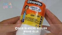 Comment faire du Slime ? Recette du Slime avec de la lessive - No borax Slime Recipe - Glo