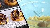 Crème croquant bouffée recette Hangul titres fabrication choux de chaussures de biscuits au craquelin de