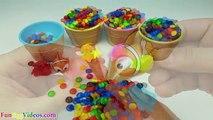 Enfants les couleurs crème petits gâteaux des œufs de la glace enfants Apprendre patrouille patte enseigner tout petit jouet jouets m