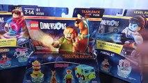 LEGO Dimensions SCOOBY-DOO! TEAM PACK - 71206 Scooby Fire Snack #6 - Лего Скуби Ду