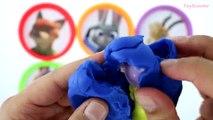 Latas colores huevos huevos huevos Aprender jugar simpson sorpresa juguetes en Zootopia doh disney minecraft ~ ☀ * ★