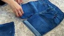 Bricolaje cómo hacer rasgado pantalones cortos para cómo hacer una moda arrancó cortos