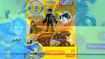 Imaginext® DC Super Heroes & Villains w/ Superman Batman Red Robin & Man-Bat Unboxing