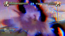 Tous les tous les et démo orage équipe ultime 4 jutsus Naruto Shippuden Ninja jutsus