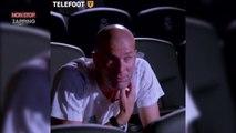 Zinedine Zidane en larmes après un reportage Téléfoot (vidéo)
