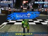 Accidents extrême échoue moto Gopro 3d sbs hd 2016