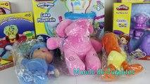 El Delaware por un allí pasado pocoyo pato loula elly juguetes plastilina aprende colores numeros español cubo