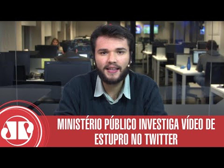 Ministério Público investiga vídeo de estupro no Twitter | Carlos Aros | Jovem Pan