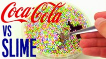 SLIME vs COCA COLA   What happens if you mix coke with Slime