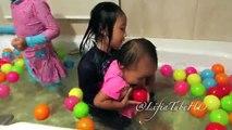 Ball Pit Show for Toddler ❤ Kids Pool Fun Balls ❤ Fin Fun Mermaid Tail - Compilation @Lifi