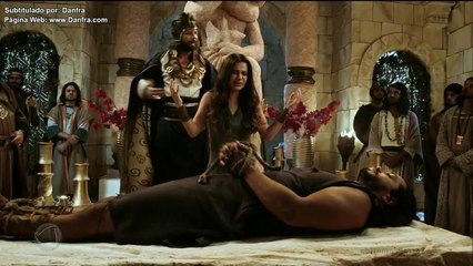 La tierra prometida cap 298 y cap 299 en español. Tobias es sacrificado por Adoniseque