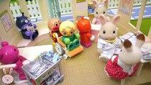 Đồ chơi trẻ em bác sĩ thỏ và phòng khám bệnh sylvanian families YAPI #4 BÁC SĨ NHỆN BÓC BÁ