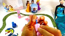 Boîte de poupée gelé maquillage en chantant jouet jouets Disney Surprise Elsa  