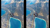 VR Acrophobia? 3D Jump from Crane [Google Cardboard VR Box 360] Virtual Reality Video 3D S