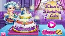 Gâteau gelé mariage pour Jeu elsa gâteau froid mariage de coeur Elsa passage
