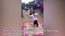 Tiết mục biểu diễn nhảy Hiphop đang chạm đến sâu trong trái tim cư dân mạng Việt.