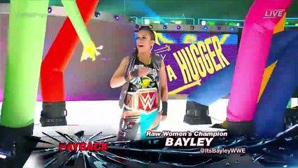 Bayley Vs Alexa Bliss Raw womens championship Payback 2017