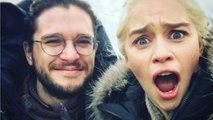 Emilia Clarke & Kit Harington Reacts to Love Scene in Game Of Thrones (Season 7)