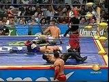 AAA-Sin Limite  2009.07.19  Zapopan  04 Alex Koslov, Sugi San & Teddy Hart vs. Extreme Tiger, Jack Evans & Rocky Romero