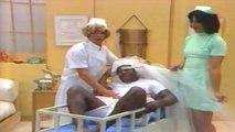 Os Trapalhões - Dedé a Enfermeira e os bebês Didi, Mussum e Zacarias.