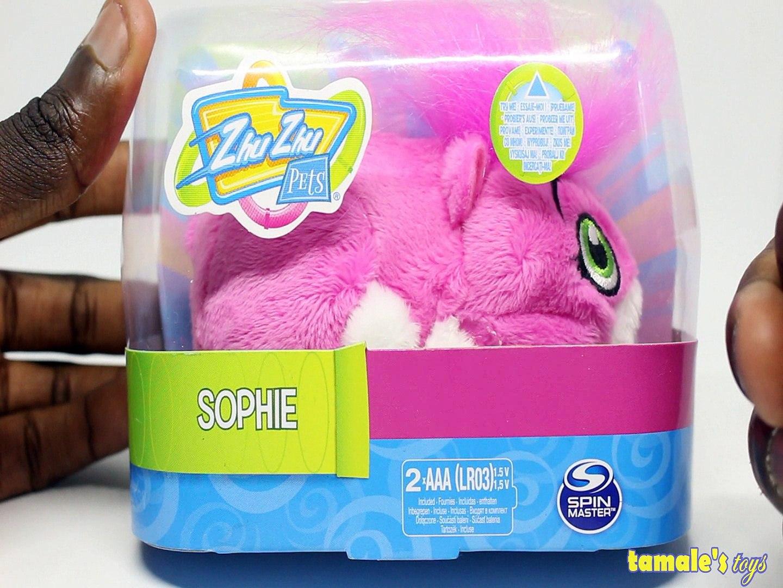 ZHU ZHU PETS SOPHIE UNBOXING Toys BABY Videos