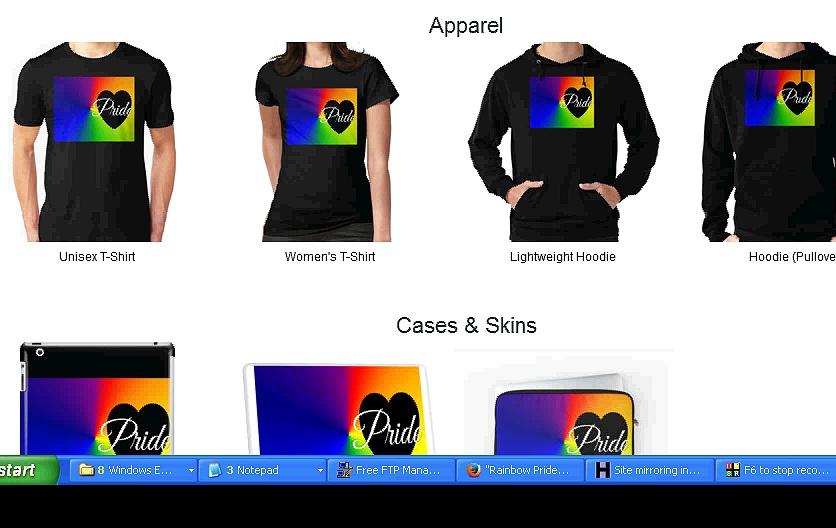 Rainbow Pride Merchandise Collection