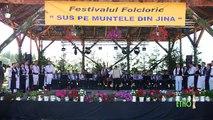 Orchestra Ansamblului Jidvei Romania,dir. Stelian Stoica si Grupul vocal Jidvei Romania(Festivalul Sus pe muntele din Jina)