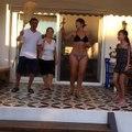 Hülya Avşar'dan bikinili dans