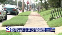 Woman Was Shot at as She Returned Home From Long Hospital Stay