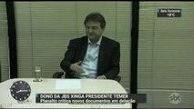 Joesley Batista xinga Michel Temer em nota de resposta ao governo