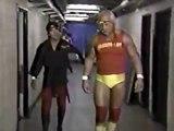 HULK HOGAN AND RICKY THE DRAGON STEAMBOAT VS MAGNIFICENT MURACO, MR FUJI AND JOHNNY V - WWE WWF Wrestling - Sports MMA Mixed Martial Arts Entertainment