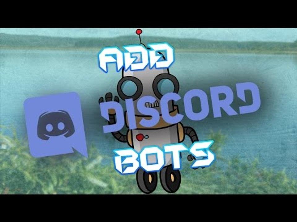 Add Bots To Discord - Discord Basics EP1