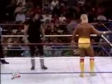 HULK HOGAN VS THE UNDERTAKER - WWF CHAMPIONSHIP - SURVIVOR SERIES (1991) - WWE WWF Wrestling - Sports MMA Mixed Martial Arts Entertainment