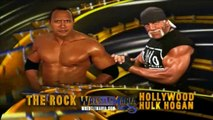 HULK HOGAN VS DWAYNE THE ROCK JOHNSON PROMO AT WRESTLEMANIA 18 - WWE WWF Wrestling - Sports MMA Mixed Martial Arts Entertainment