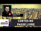 Estudantes protestam na Paulista contra cortes no Passe Livre | Jornal da Manhã