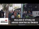 Mulher é vítima de abuso dentro de ônibus na Avenida Paulista, em SP