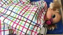 Vivant bébé haricot changer couche poupée alimentation aliments Nouveau Cru avec 2006 beatrix hd