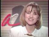 Antenne 2 - 11 Mars 1988 - Speakerine (Valérie Maurice), fermeture antenne