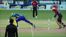 Shadab Khan 2-13 and excellent run out for Trinbago Knight Riders against Barbados Tridents in CPL 2