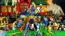 Лего Ниндзяго конструктор на русском языке мультики из игры обзор игрушек kokatube